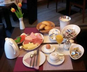 Hotel Gerlach Fruehstueck breakfast
