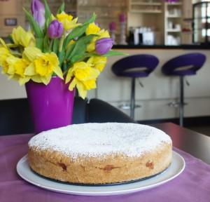 Hotel Gerlach Cafe Apfelkuchen mit Zimt